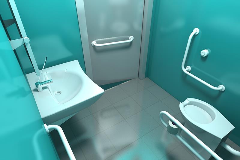 Bagni disabili e sanitari di sicurezza