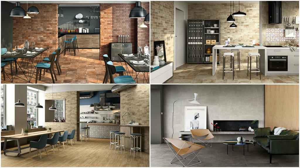 Rivestimenti per cucina e living serie Materia, Natural Feeling e Sovereign